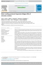 Slow cooling protocol improves fatigue life of zirconia crowns